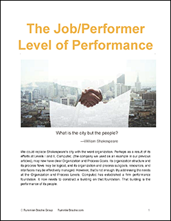 Job level performance