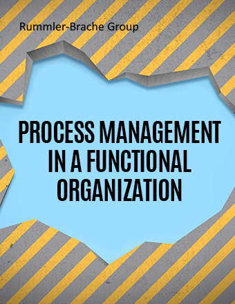 Process Management in a Functional Organization