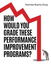 How Would You Grade These Performance Improvement Programs?