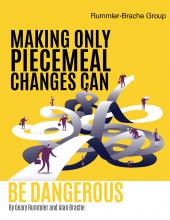 Piecemeal Changes by Geary Rummler Alan Brache